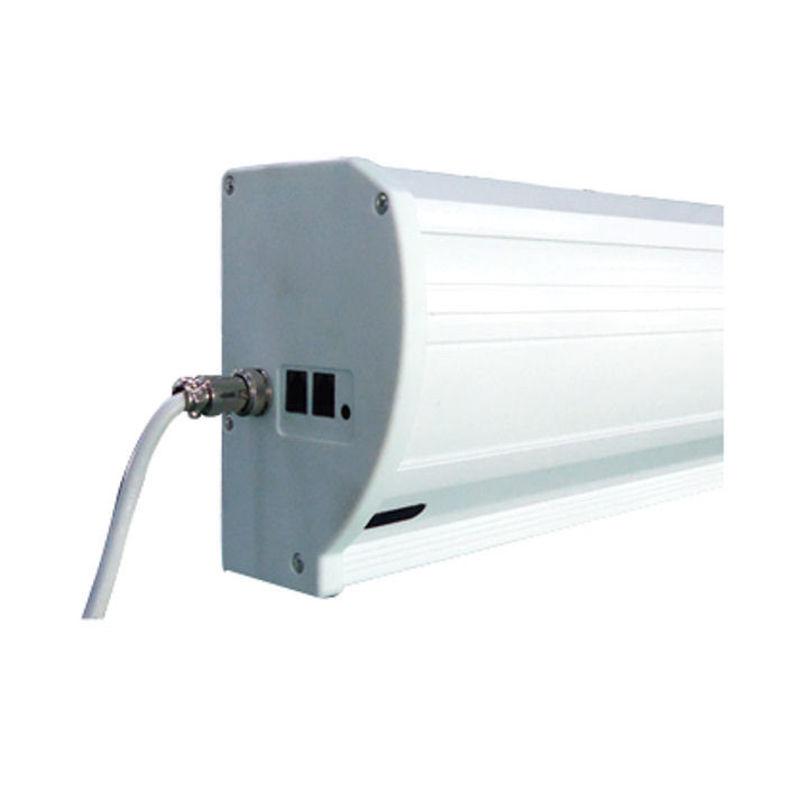 ecran de projection lectrique tensionn 2 20 x 1 24m format 16 9 carter blanc kimex. Black Bedroom Furniture Sets. Home Design Ideas
