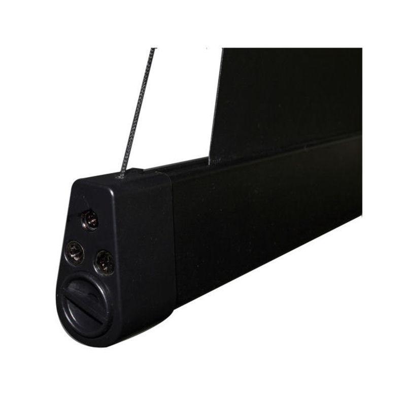 ecran de projection lectrique tensionn 3 00 x 1 69m format 16 9 carter noir kimex. Black Bedroom Furniture Sets. Home Design Ideas
