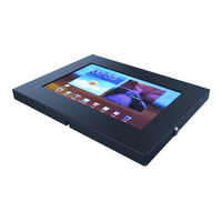 "Support antivol pour tablette Samsung Galaxy Tab 10.1"" 1,2,3"