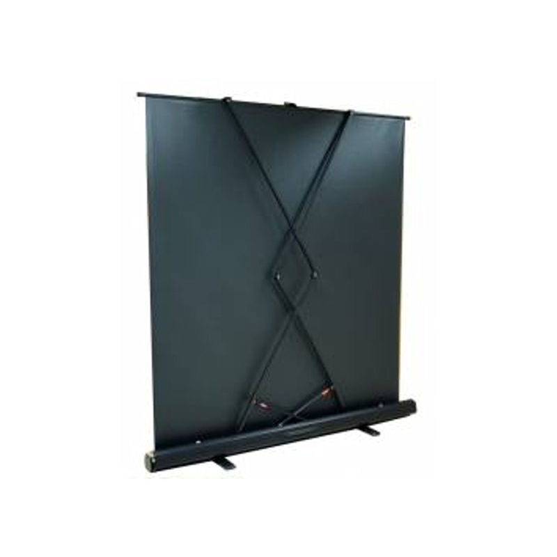 ecran de projection transportable pull up 1 32 x 0 74m format 16 9 kimex. Black Bedroom Furniture Sets. Home Design Ideas