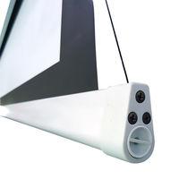 Ecran de projection électrique tensionné 2,60 x 1,46m, format 16:9, Carter blanc