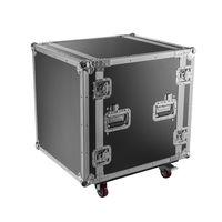 Flight case rack 19´´ pour console, Capacité 12U