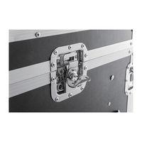 Flight case rack 19´´ pour console, Capacité 16U