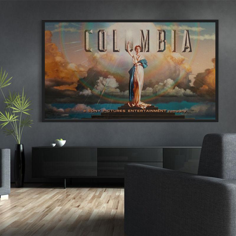 ecran de projection sur cadre 2 40 x 1 35m format 16 9 kimex. Black Bedroom Furniture Sets. Home Design Ideas