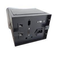 Boîtier de table encastrable 2xRJ45, USB 2.0, HDMI, Prise 220V, Gris
