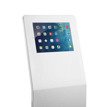 "Borne antivol pour tablette IPAD  9.7""-12.9"", Blanc"
