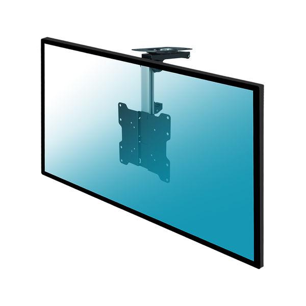 Support Plafond Escamotable Pour Ecran Tv 17 37 Hauteur 27 40cm Ebay