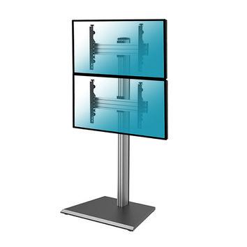 """Support sur pied pour 2 écrans TV LCD LED 40""""-65"""""""