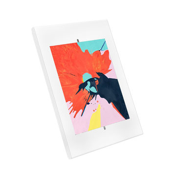 """Support antivol pour tablette iPad 9.7"""" et 10.2"""", iPad Pro 10.5 et Samsung Tab A  10.1"""" 2019, blanc"""