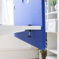 Panneau acoustique séparateur de bureau 120x60cm Bleu